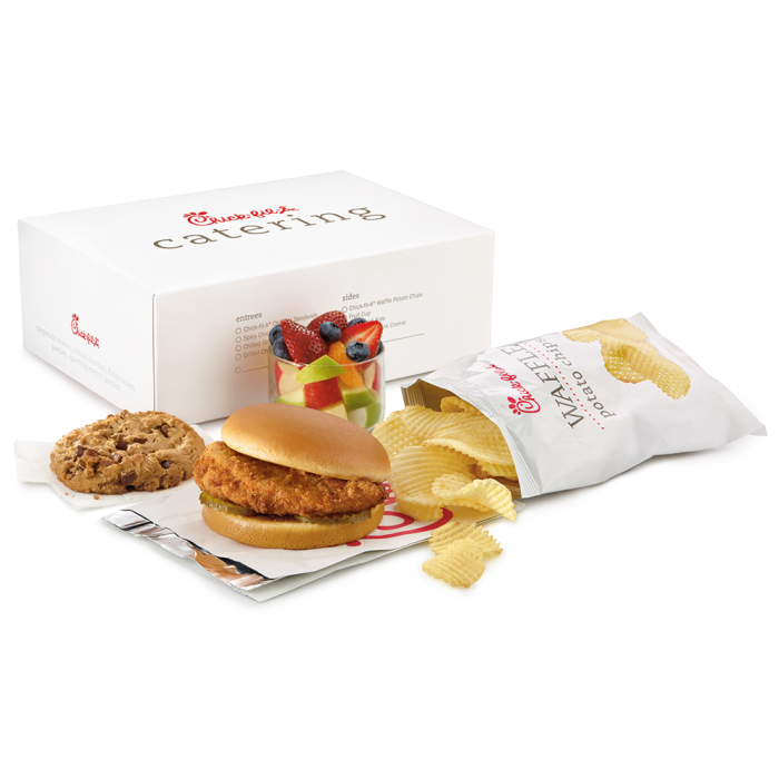 Chick-fil-A Chicken Sandwich Packaged Meal